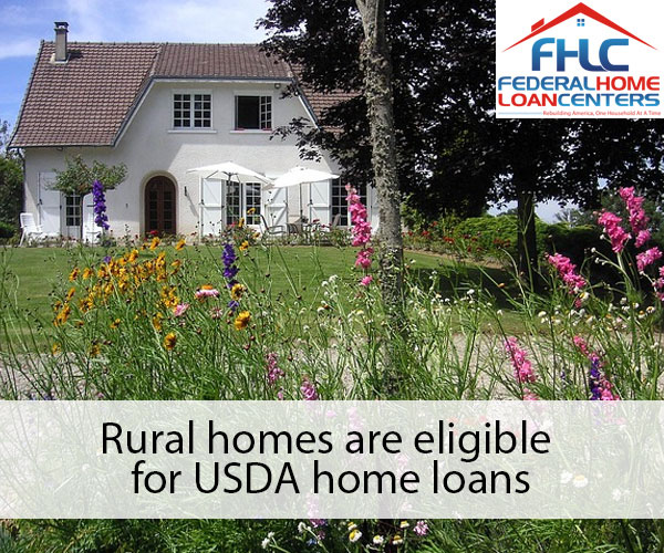 In depth usda home loans federal home loan centers for Rural home builders