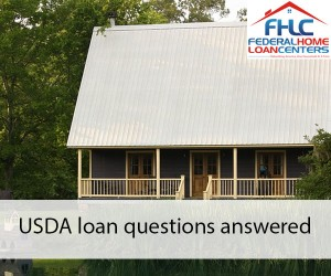 USDA loan questions answered